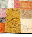 Vloerkledenspecialist Turks patchwork tapijt