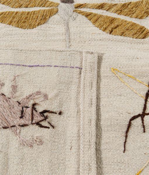 Afghan Kelim Bugs 'n Birds vloerkleed Brokking Vloerkledenspecialist.nl IJsselstein