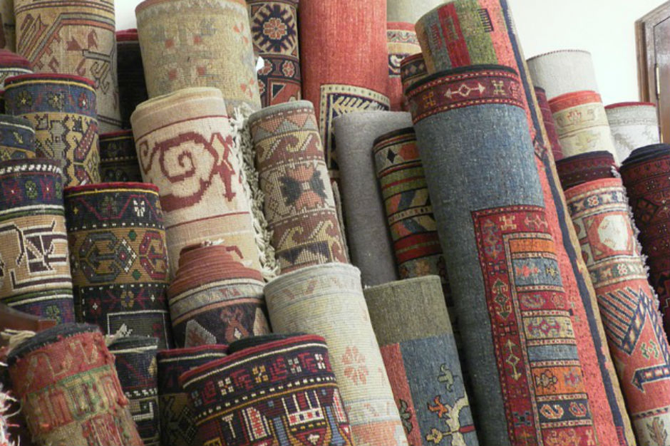 Handgeknoopt Tapijt Herkennen : Handgeknoopt indo heriz tapijt ca cm catawiki