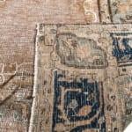 Iran Afghan vintage finish vloerkleed Brokking Vloerkledenspecialist.nl IJsselstein