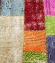 Turks recoloured patchwork vloerkleed Brokking Vloerkledenspecialist.nl IJsselstein