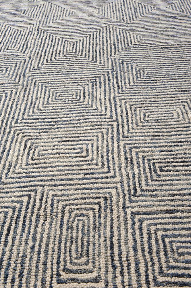 India Bleu Maze vloerkleed Brokking Vloerkledenspecialist.nl IJsselstein