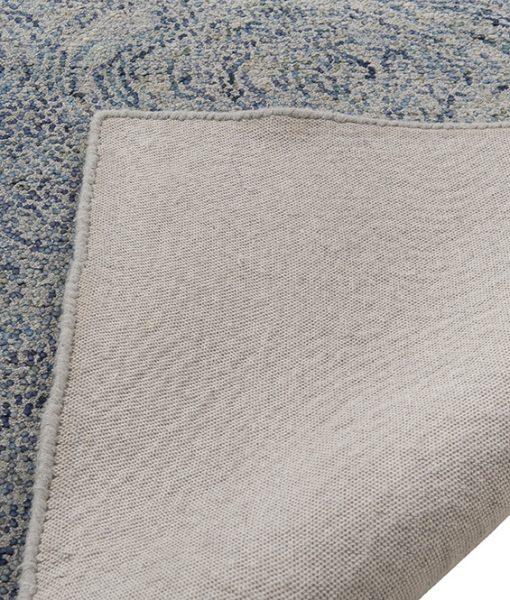 India Gogh bleu Dot vloerkleed Brokking IJsselstein Vloerkledenspecialist.nl