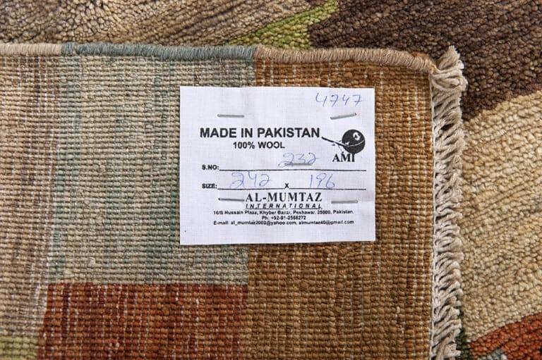 Pakistan traditional Nomad design limited edition vloerkleed Brokking Vloerkledenspecialist.nl IJsselstein