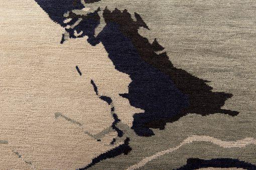 Modern Nepal design vloerkleed brokking vloerkledenspecialist.nl ijsselstein