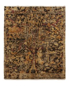 Museum Collection Kompozit Amber Brown vloerkleed Brokking Vloerkledenspecialist.nl IJsselstein