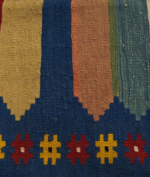 Afghan traditional Kelim vloerkleed Brokking Vloerkledenspecialist.nl IJsselstein