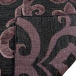 India Damask purple/black vloerkleed Brokking Vloerkledenspecialist.nl IJsselstein