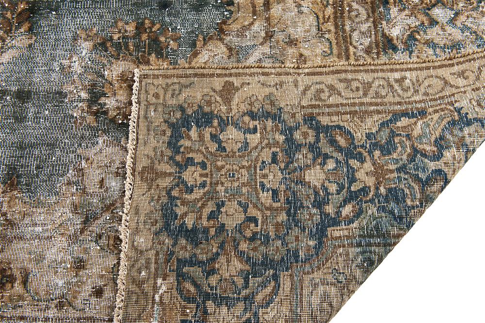 Roobol Tapijt Vloerkleden : Oud blauw hoog polig tapijt ecosia