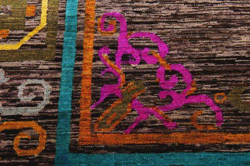 Classic colour art vloerkleed Brokking Vloerkledenspecialist.nl IJsselstein