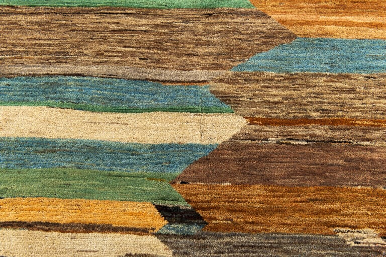 Pakistan Abstract Art-Deco Colour vloerkleed Brokking Vloerkledenspecialist.nl IJsselstein (97)