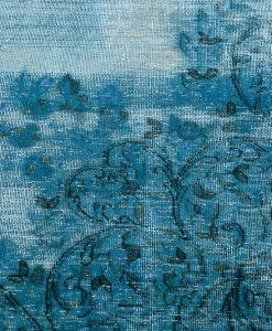 Iran Vintage Blue Lagoon vloerkleed Brokking Vloerkledenspecialist.nl IJsselstein