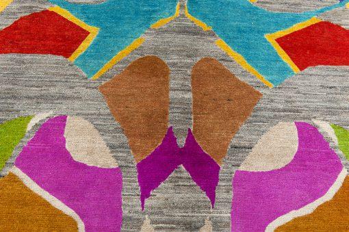 Pakistan modern Art-Deco vloerkleed Brokking Vloerkledenspecialist.nl IJsselstein