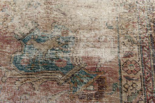 Iraans recoloured vintage vloerkleed Brokking Vloerkledenspecialist.nl IJsselstein