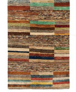 Afghan modern Stripe vloerkleed Brokking Vloerkledenspecialist.nl IJsselstein