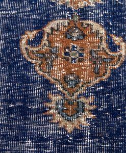 Vintage Turks vloerkleed detail - Brokking vloerkledenspecialist