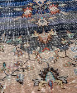 Vintage Turks vloerkleed Brokking Vloerkledenspecialist detail