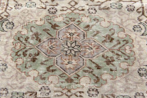 Turks vintage vloerkleed medaillon Brokking vloerkledenspecialist
