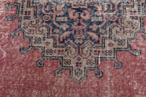 Turks vintage vloerkleed Brokking Vloerkledenspecialist detail