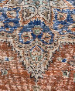 Turks Patchwork vloerkleed detail Brokking Vloerkledenspecialist