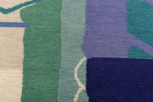 Nepal modern design detail1 - Brokking vloerkledenspecialist