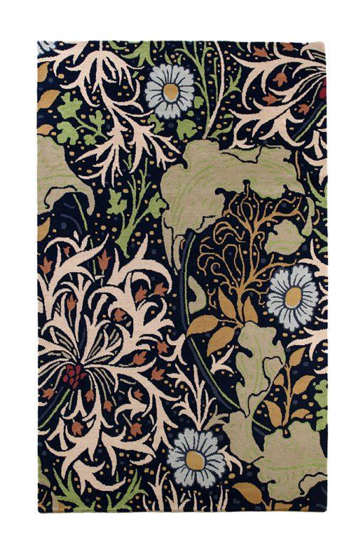 Nepal flower design - Brokking vloerkledenspecialist