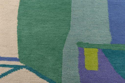 Nepal modern design detail2 - Brokking vloerkledenspecialist