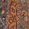Pakistan Traditional vloerkleed detail3