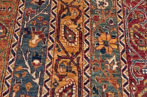 Pakistan Traditional vloerkleed detail3 - Brokking Vloerkledenspecialist