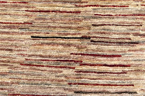 Pakistan stripes loper detail - Brokking Vloerkledenspecialist