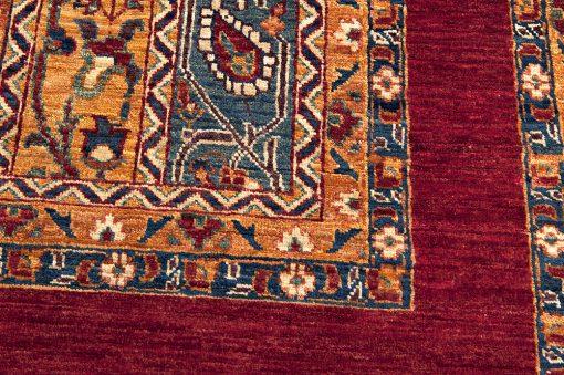 Pakistan traditional vloerkleed detail1 - Brokking Vloerkledenspecialist