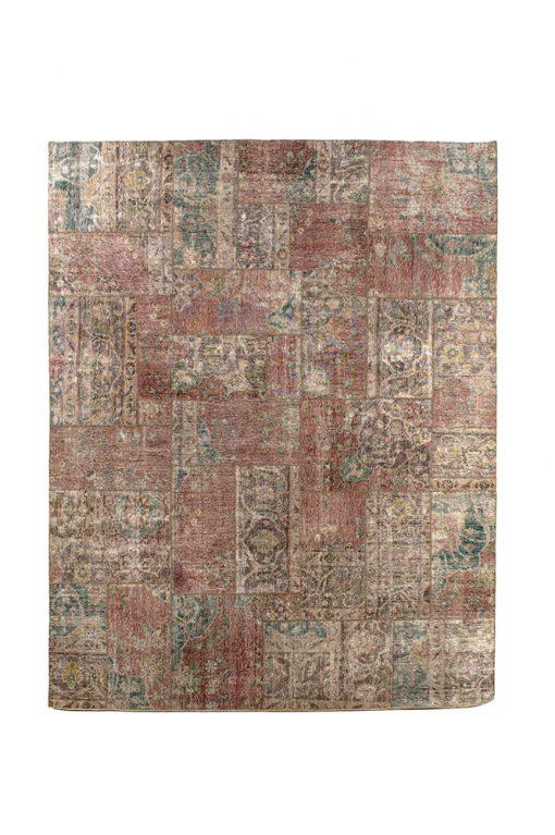 Iran patchwork vintage - Brokking Vloerkledenspecialist