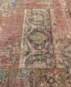 Iran patchwork vintage detail - Brokking Vloerkledenspecialist
