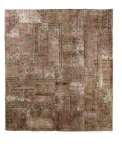 Vintage patchwork Iran - Brokking Vloerkledenspecialist