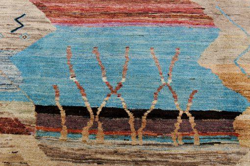Modern Art Carpet detail3 - Brokking Vloerkledenspecialist