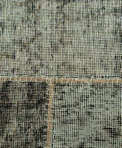 Vintage patchwork green detail1 - Brokking Vloerkledenspecialist