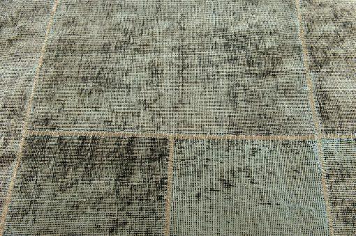Vintage patchwork green 2 - Brokking Vloerkledenspecialist