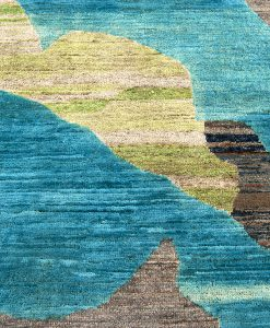 Painting Art vloerkleed detail - Brokking Vloerkledenspecialist