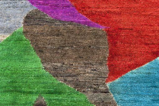 Painting Art vloerkleed detail2 - Brokking Vloerkledenspecialist