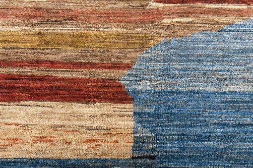 Pakistan Art Deco vloerkleed - detail 2- Brokking Vloerkledenspecialist