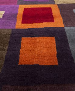 Colour blocks detail Brokking Vloerkledenspecialist