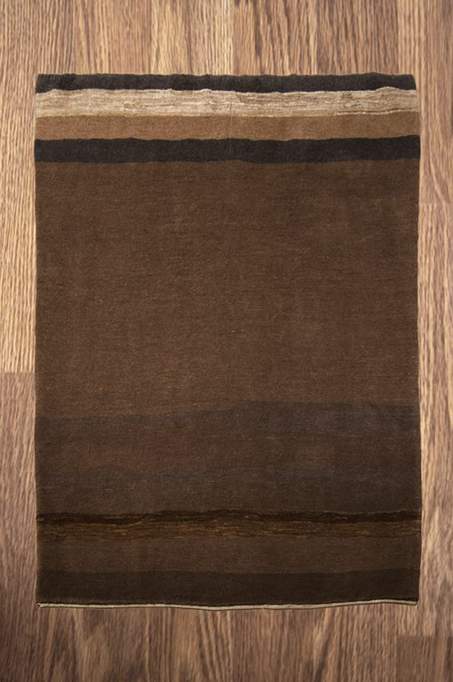India brown Gabbeh Brokking Vloerkledenspecialist