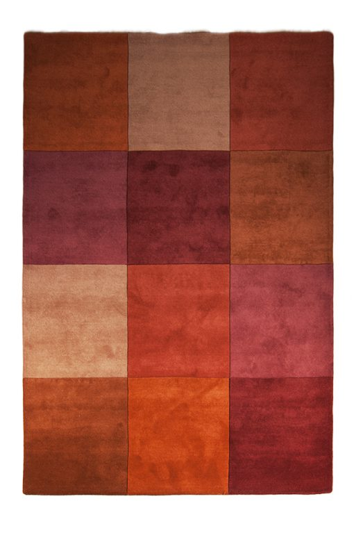 Tufted colourblocks India Brokking Vloerkledenspecialist