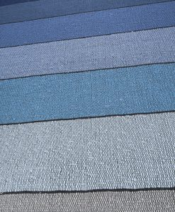 Blue stripes detail Brokking Vloerkledenspecialist