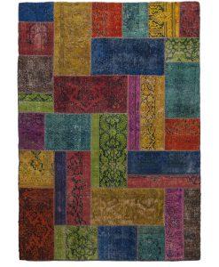 Vintage patchwork Iran | Brokking Vloerkledenspecialist