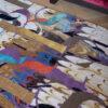 Vloerkleed modern Nepal Paris is art det