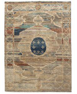 Handgeknoopt tapijt