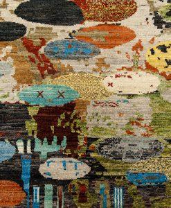 Painting color design detail - Brokking Vloerkledenspecialist.nl