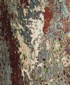 Painting design Pakistan detail - Brokking Vloerkledenspecialist