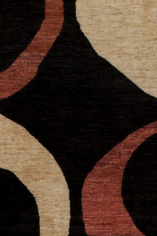 Ziegler circle design vloerkleed detail | Brokking Vloerkledenspecialist